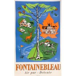 Claude Mosset. Fontainebleau. Ca 1955.