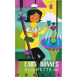 Ph. Boutin. Eaux-Bonnes Gourette. Ca 1955.