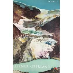 Hans Erni. Berner Oberland. Schweiz. 1956.