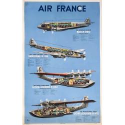 N. Gerale. Air France. Circa 1935.
