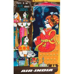 Air India. There is an air about India. Circa 1950.