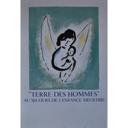Terre des Hommes. Marc Chagall. 1972.