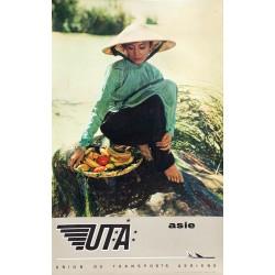 Paul Genest. UTA. Asie. Vers 1965.