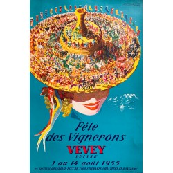 Viktor Rutz. Fête des Vignerons, Vevey. 1955.