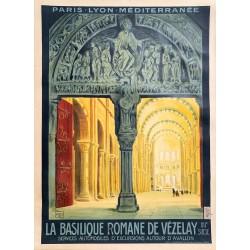Charles Jean Hallo. Vézelay. PLM. Vers 1923.