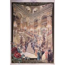 Carlo Gussetti. Paris, Théâtre de l'Opéra. PLM. 1900.