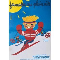 V. Morvan. L. Kouper. Jeunesse au plein air. 1986.