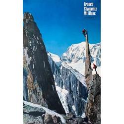 Roland Gay-Couttet. Chamonix - Mont-Blanc. 1967.