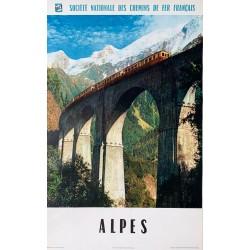 Molina. Alpes SNCF. [Chamonix - Mont-Blanc]. 1960.
