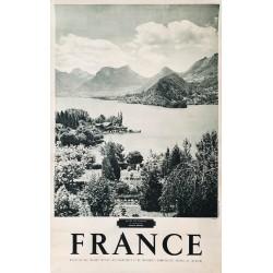 Roubier. Alpes de France. Lac d'Annecy. Ca 1950.