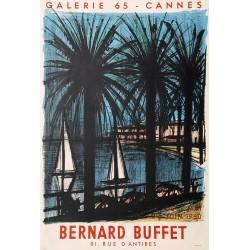 Bernard Buffet. Galerie 65, Cannes. 1960.