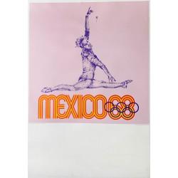 Lance Wyman. Mexico 68. Gymnastique. 1968.