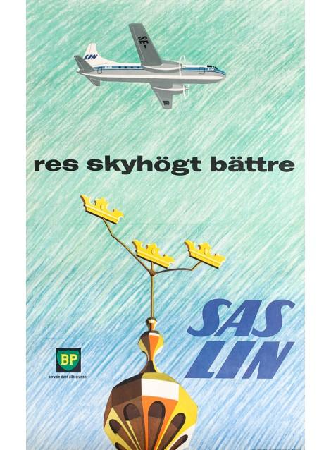 SAS - LIN. Convair Metropolitan. Ca 1960.