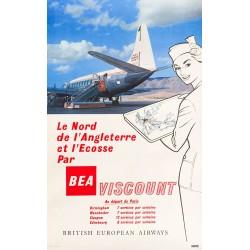 BEA Viscount. 1956.