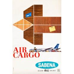 Ch. Brisart. Sabena, Air Cargo. 1967.