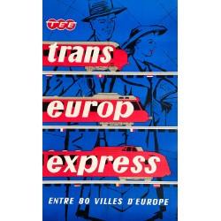 Trans Europ Express. Ca 1960