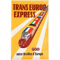 Jan Rodrigo. Trans Europ Express. 1957.