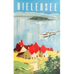 Walter Zulauf. Bielersee. 1951.