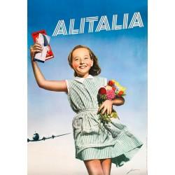 Elio Luxardo. Alitalia. 1955.