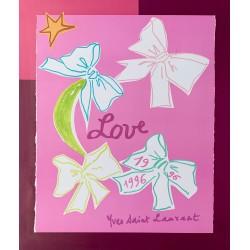 Yves Saint Laurent. Love. 1996.