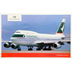 Fly Cathay Pacific. Vers 1985.