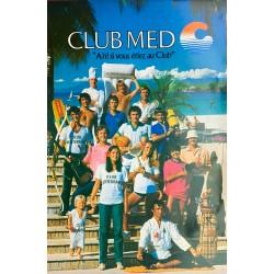 Club Méditerranée. Ca 1975.