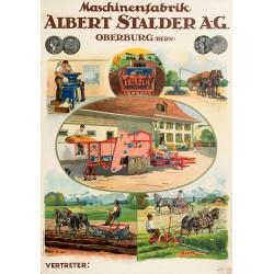 Maschinenfabrik Albert Stalder A.-G., Oberburg. Ca 1920.