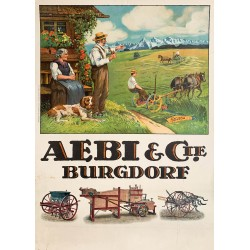 Aebi & Cie Burgdorf. Vers 1920.