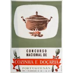 Oskar. Concurso nacional de cozinha e doçaria portuguesas. 1961.