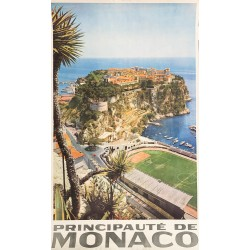 Principauté de Monaco. Ca 1960.