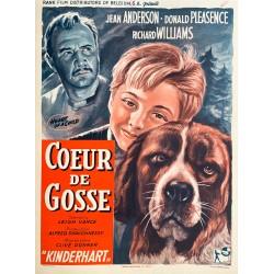 Coeur de Gosse. Heat of a child. 1958.