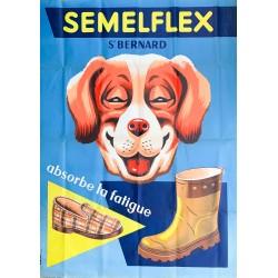 Publigay (Paris). Semelflex. Vers 1955.