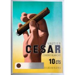 Cassandre. Vautier César Cendre blanche. 1937.