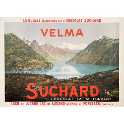 Suchard. Velma. Lac de Lugano. Ca 1905.