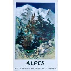 Lucien Joseph Fontanarosa. SNCF Alpes. 1962.