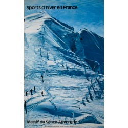 Sports d'hiver En France. Sully. 1975.
