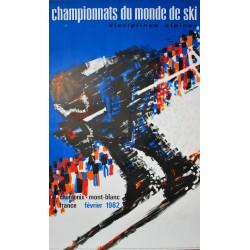 Championnats du Monde de Ski, Chamonix. Constantin. 1962.