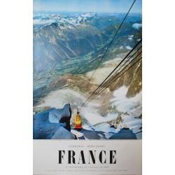 Chamonix Mont-Blanc. Viguier. 1956.