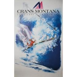 Crans Montana. Jean-Marie Grand. 1992.