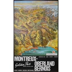 Montreux Oberland Bernois. Louis Koller. 1960.