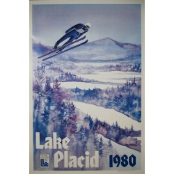Olympic Winter Games, Lake Placid. Whitney. 1980.