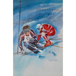 Olympc Winter Games, Lake Placid. John GALLUCCI. 1980.