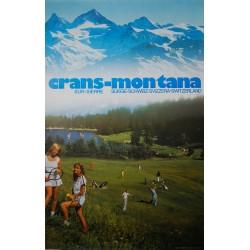 Crans-Montana sur Sierre. Télès Deprez. 1983.