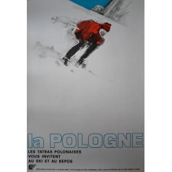 Ski en Pologne. Maciej Urbaniec. 1967.