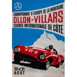 Course de côte Ollon - Villars. 1969.