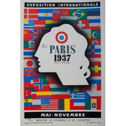 Exposition internationale, Paris. Jean Carlu. 1937.