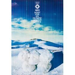 Sarajevo 84, Olympic Winter Games. D.S. Stefanovic. 1984.