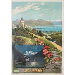 Lac Léman. François Hugo d'Alési. 1895.