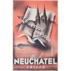 Neuchâtel. Jean-Pierre Châtelain. 1937.