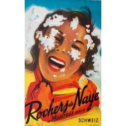 Rochers de Naye. 1952.